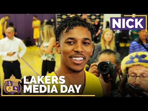 Lakers Media Day 2016: Nick Young