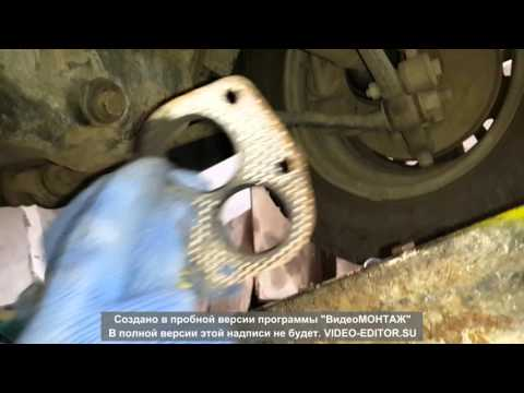 замена прокладки между коллектором и штанами ваз 2109 часть 2