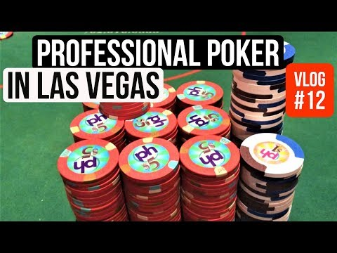 Professional Poker in Las Vegas l Poker VLog 12 l Week 10 Part 1