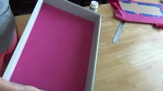 Diy Suede Drawer Liner