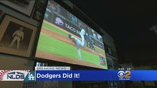 Dodgers Close Out Braves 6-2, Advances To NLCS For Second Straight Season