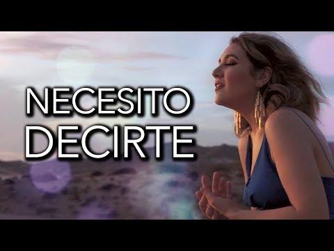 Necesito Decirte - Conjunto Primavera / Marián Oviedo (cover)
