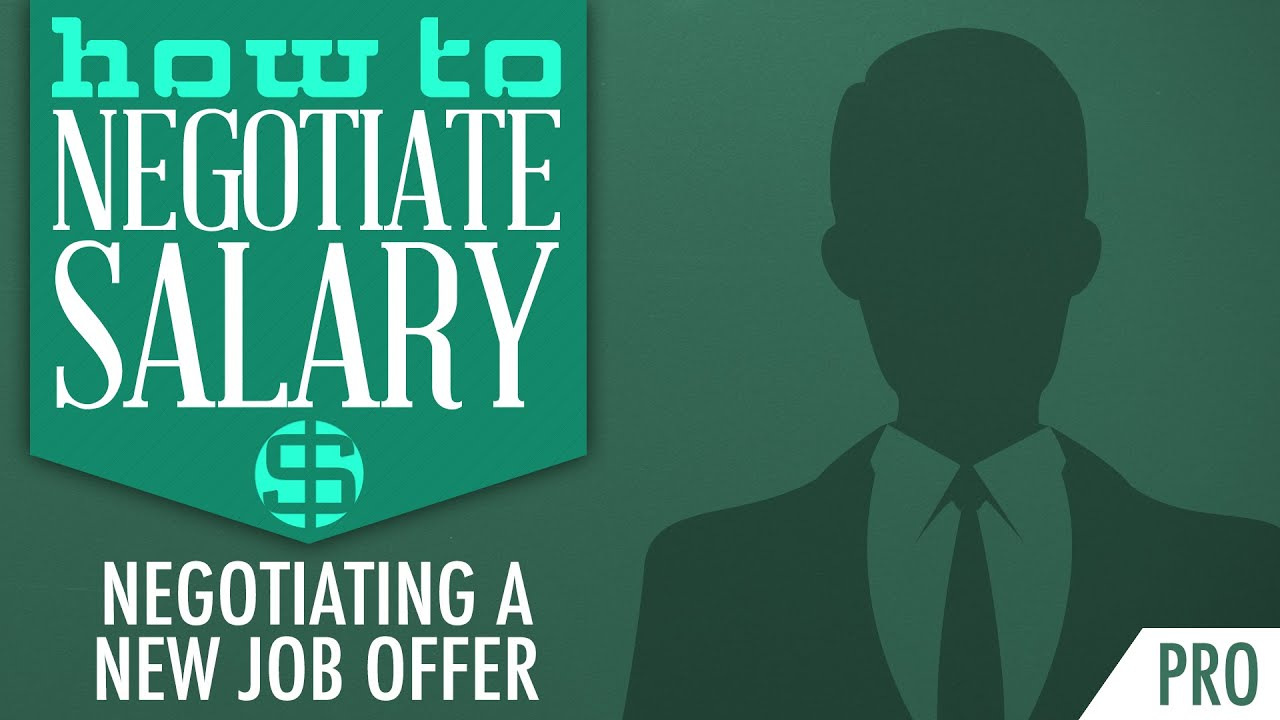 How to Negotiate Salary: Negotiating a New Job Offer Course ... How to Negotiate Salary: Negotiating a New Job Offer Course (Trailer) - YouTube