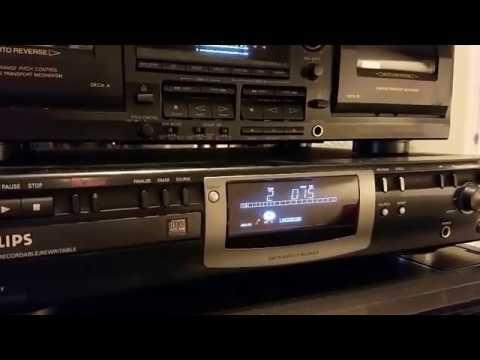 Phillips CDR770 Audio CD Recorder Player Analog Digital Burner