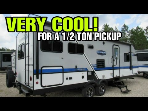Half Ton Towable Travel Trailer With A Great Floorplan