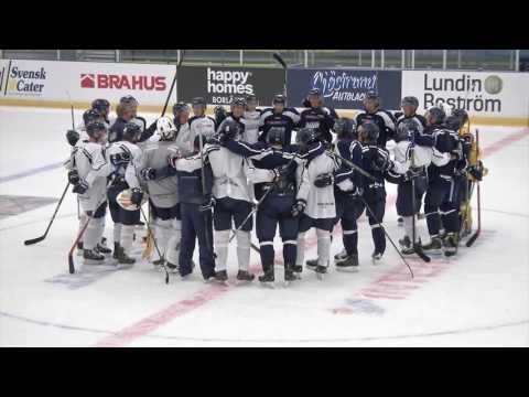 Borlänge Hockeys första isträning 2016/17