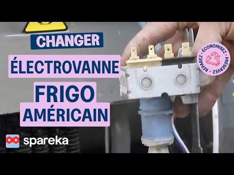 réfrigérateur machine à glaçons branchement