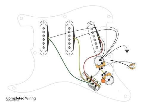 on 3 singles 1 volume 2 tone wiring diagram