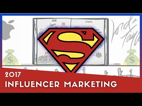 Influencer Marketing - What you need to know for 2017