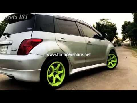 Toyota Ist Car Modified In Sylhet, Bangladesh