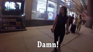No vas a creer la cantidad de veces que esta mujer es hostigada en 10 horas