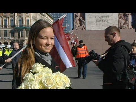 A Riga la sfilata delle ex SS lettoni