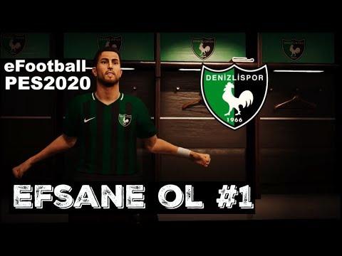 PES 2020 EFSANE OL FORVET KARİYERİ #1