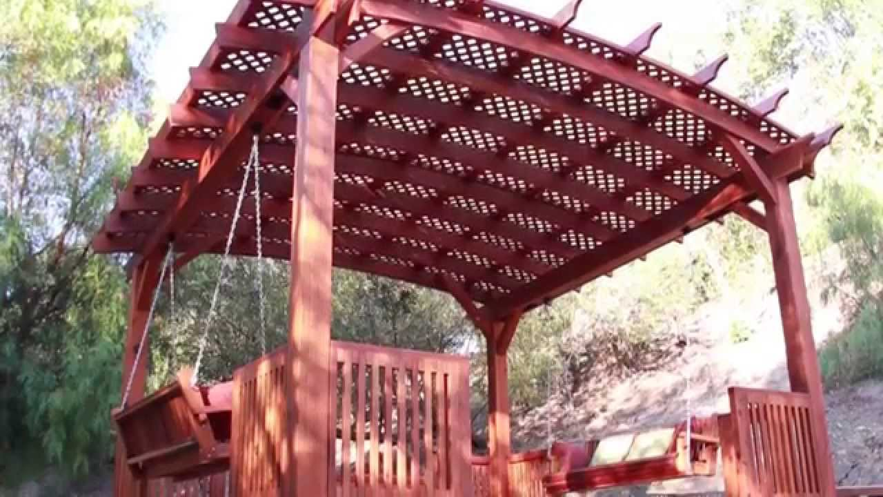 Assembly Installation Of 18 X Arched Pergola