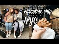 FINDING THE BEST CHOCOLATE CHIP COOKIE IN NYC! Michelle and Aline
