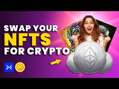 SWAP YOUR NFT ART FOR CRYPTO! - DigCol NFT platform