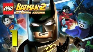 Father and Son Play: LEGO Batman 2 - Playthrough pt 1