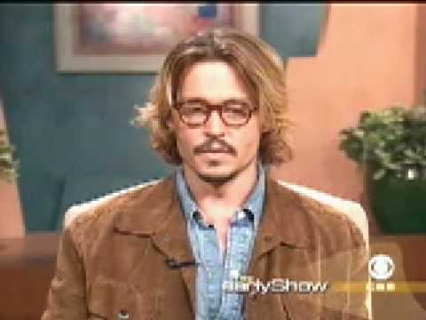Johnny Depp on the Early Show