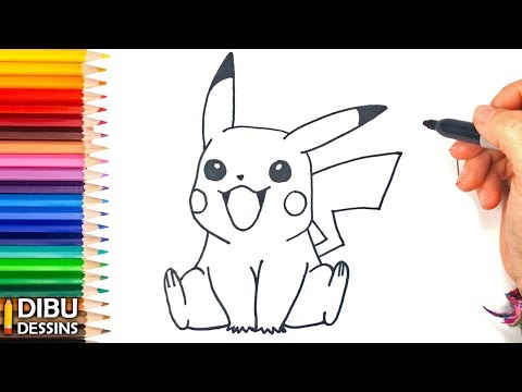 Comment Dessiner Pikachu Dessin De Pikachu Youtube