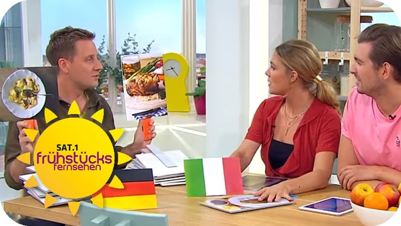 Deutsche vs. Internationale Küche: Was essen die Deutschen ...