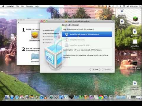 How to Install Oracle VirtualBox on Mac OS X