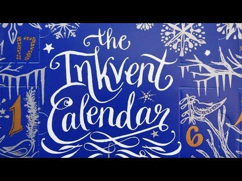Diamine Inkvent Calendar Review
