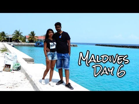 Maldives Travel Vlog Day 6 | Beach Vacation | Island