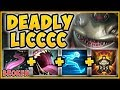 NO ONE IS SAFE FROM THIS KENCH! DEADLY LICC KENCH IS 100% OPPRESSIVE! KENCH S9! - League of Legends