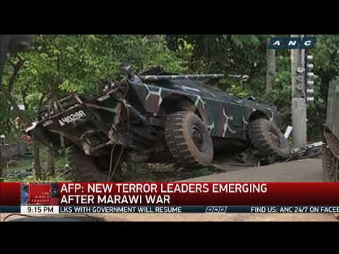 AFP says new terror leaders emerging after war in Marawi