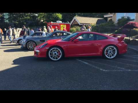 Cars and Coffee Society May 2017 Salem Oregon