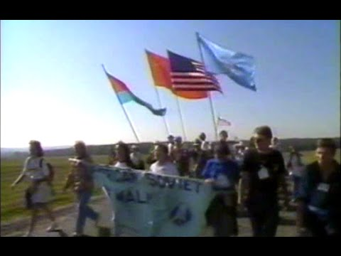 Odessa to Kiev (Part 1) - The 1988 Peace Walk in The Ukraine