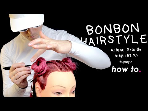 BONBON HAIRSTYLE_Ariana Grande Inspiration [Tutorial] | The End