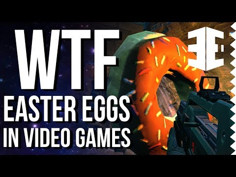 WTF Easter Eggs in Video Games!