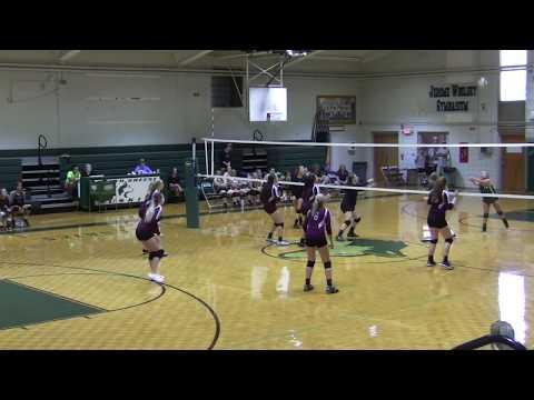 2019 JV Volleyball South Greene High School - North Greene High School 9-3-2019