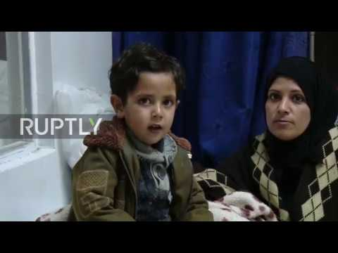 Syria: Russian Centre for the Reconciliation evacuates civilians from eastern Ghouta