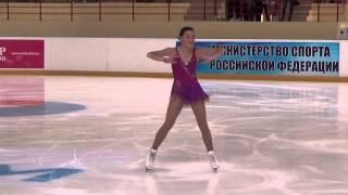 ISU CS Mordovian Ornament 2015  Ladies  КП 2 Adelina SOTNIKOVA RUS ソトニコワ 検索動画 16