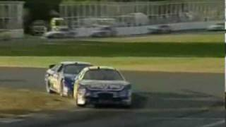 2007 Montreal Robby Gordon Incident & Interview