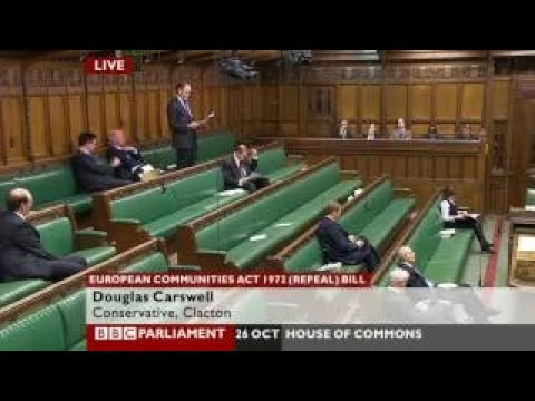 Douglas Carswell repeals the European Communities Act 26 2017 - The Best Documentary Ever