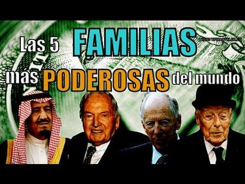 Las 5 FAMILIAS más PODEROSAS del mundo