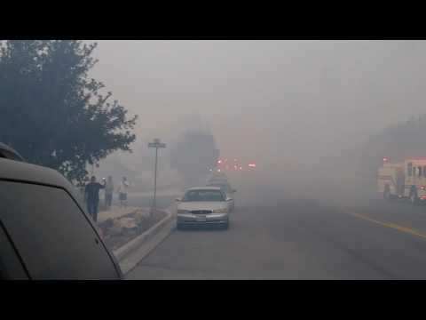 Fire  in Springville Utah..... Incendio en Springville Utah