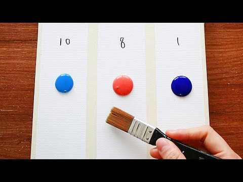 "3 Type Of Painting ""A Day"" 10am 8pm 1am
