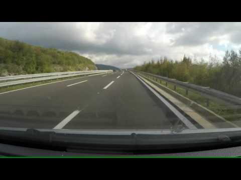 Venecija to Zagreb Venice Italy Zagreb Croatia Highway Autostrada Autocesta A1