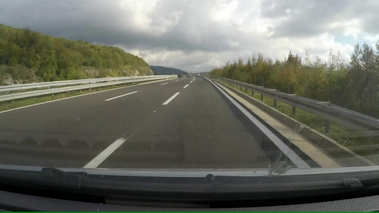 Venecija To Zagreb Venice Italy Zagreb Croatia Highway Autostrada Autocesta A1 Youtube