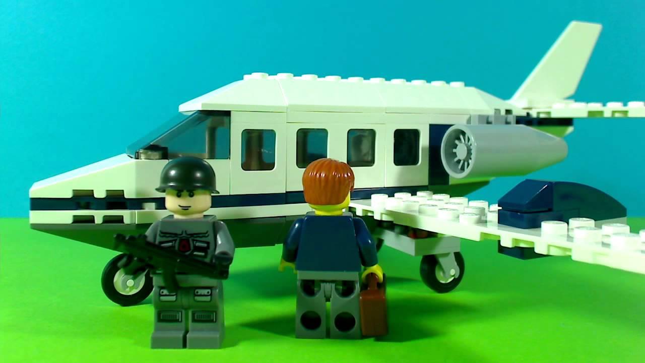 Lego city commuter jet 7696
