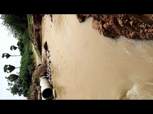 Adhanur damaged bridge