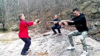 Крым Тренировка с Тамиром в горном ручье  каждую субботу для всех желающих