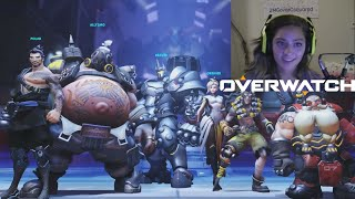 ROADHOG GAMEPLAY (Overwatch Beta)