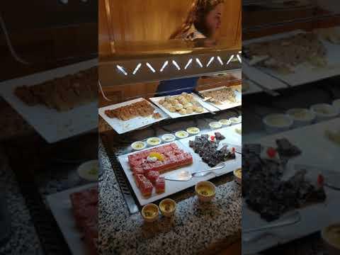 Ресторан Coral отеля Novotel Sharm El Sheikh (часть 1)