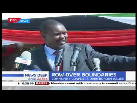 Leaders from the North Rift Economic block led by Governor Mandago faults IEBC over boundary issues