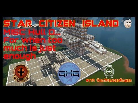 Star Citizen Island - Misc Hull D size comparison